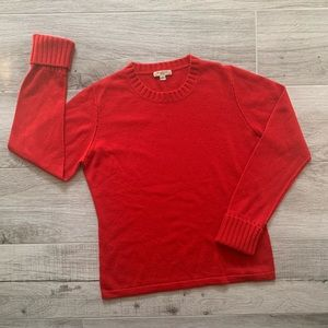Burberry London red sweater